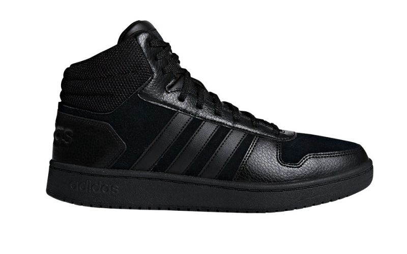 pretty nice 4f62f 96828 adidas HOOPS 2.0 MID BLACK B44649