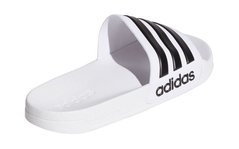 CHANCLAS ADILETTE SHOWER BLANCO NEGRO AQ1702