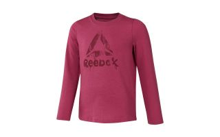 Reebok CAMISETA GIRLS TRAINING ESSENTIALS LONGSLEEVE MAGENTA NIÑA