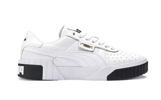 Puma CALI WOMEN WHITE BLACK 369155 04