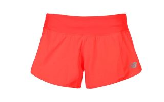 New Balance IMPACT SPLIT 3 INCH CORAL WOMEN SHORTS