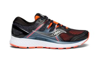 Saucony OMNI ISO BLACK ORANGE S20442-35