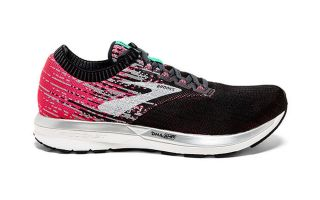 Brooks RICOCHET WOMEN BLACK PINK 1202821B678