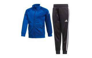 adidas CHANDAL LITTLE BOYS KNITTED ROYAL BLANCO NEGRO