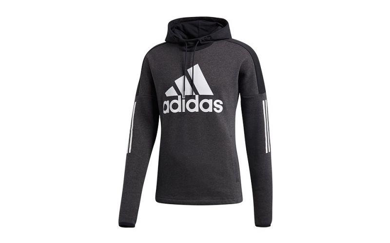 F Suave Sport Cálida Y Logo Negro Sudadera Id Adidas XBxaga