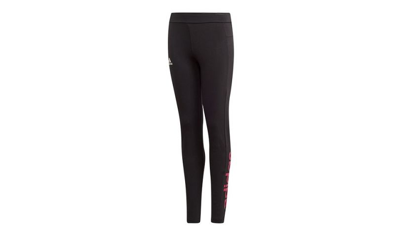 Mallas Essentials Linear Tights Negro Niña