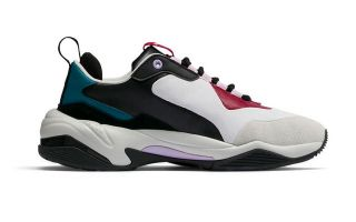 Puma THUNDER RIVE DROITE GRIS CLARO VERDE MUJER 369452 02