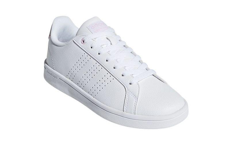 63ba8e5fca8eb Adidas Cloudfoam Advantage Clean White Women - Atemporal design