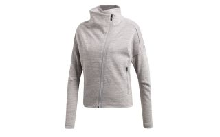 ADIDAS CHAQUETA TRACK TOP HTR GRIS MUJER