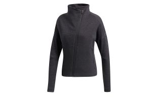 ADIDAS CHAQUETA HEARTRACER GRIS OSCURO MUJER