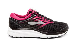 Brooks ADDICTION 13 NOIR ROSE FEMME 1202531B07