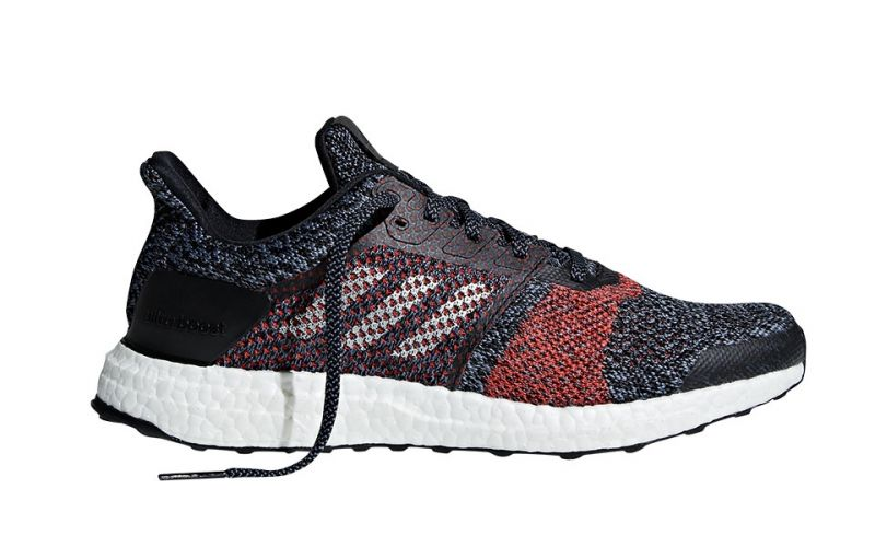 bdf875e2d9c ADIDAS Ultra Boost ST Black Red - Incorporate the Boost system