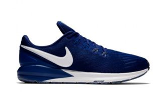 Nike AIR ZOOM STRUCTURE 22 BLEU NIAA1638 404