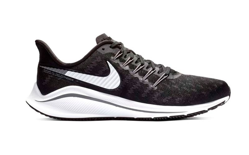 23b685b676e31 Nike Air Zoom Vomero 14 Black Grey - With dynamic fit