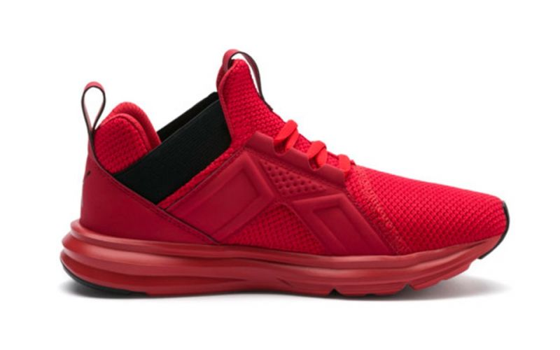 2b6facdba9ad Puma Enzo Weave Red Boy - Running shoes with versatile design