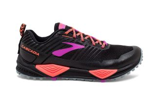BROOKS CASCADIA 13 NEGRO CORAL MUJER 1202741B026