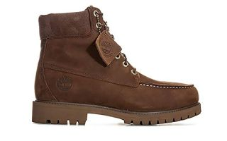 Timberland 6 IN PREMIUM WP MOC TOE BOOT BROWN TB0A1M4I9311
