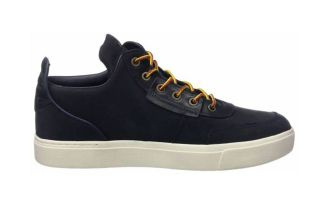 Timberland AMHERST HIGH TOP CHUKKA BLUE TB0A1G8O4101