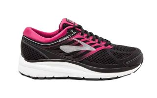 Brooks ADDICTION 13 FEMME NOIR FUSHIA