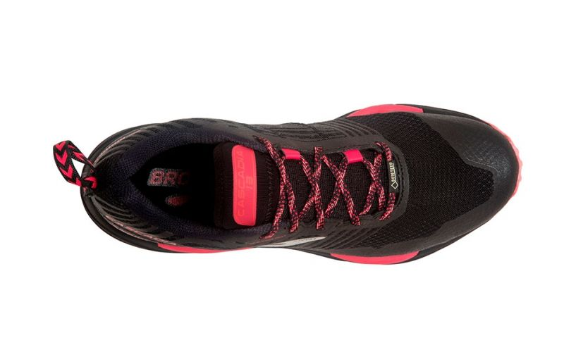 843ae87cd0b Brooks Cascadia 13 GTX Black Coral Women - Traction and quality