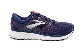 Brooks GLYCERIN 16 BLUE ORANGE WOMEN 1202781B494