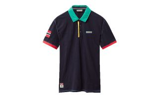 Napapijri EECH NAVY BLUE POLO SHIRT