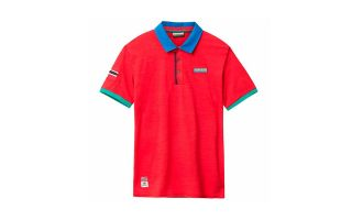 Napapijri EECH RED POLO SHIRT