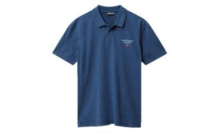 Napapijri EONTHE NAVY BLUE POLO SHIRT