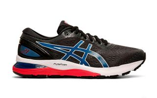 Asics NIMBUS GEL 21 BLACK BLUE 1011A169 005