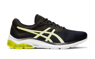ASICS GEL PULSE 11 NEGRO AMARILLO 1011A550 002
