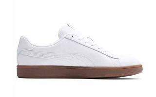 Puma SMASH V2 L BLANCO MARRÓN 365215 13