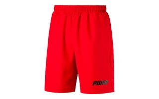 Puma REBEL WOVEN RED SHORTS 984372 11