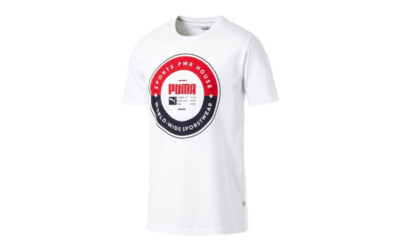11facf1242 Camiseta Puma SP Execution Tee Cotton Blanco - Confort y calidad