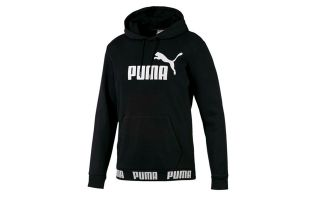 PUMA SUDADERA AMPLIFIED HOODY TR NEGRO