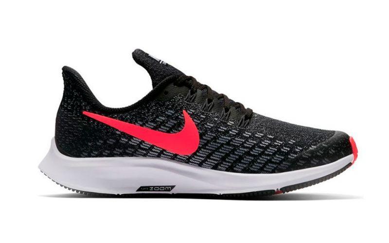 46d689b9cb15a Nike Air Zoom Pegasus 35 Black White Junior - Quality and comfort
