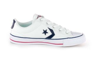 Converse STAR PLAYER OX BRANCO AZUL CV144151C