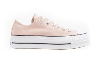 Converse CHUCK TAYLOR ALL STAR LIFT OX PARTICLE PALE PINK CV563497C