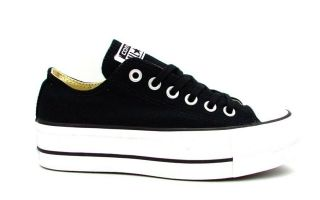 Converse CHUCK TAYLOR ALL STAR LIFT OX BLACK WOMEN