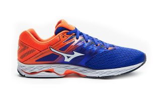 MIZUNO WAVE SHADOW 2 BLEU ORANGE J1GC1830 07