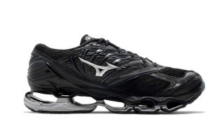 Mizuno WAVE PROPHECY 8 NEGRO PLATA J1GC1900 04