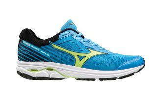 Mizuno WAVE RIDER 22 BLUE GREEN J1GC1831 35