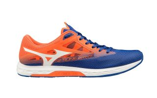 MIZUNO WAVE SONIC 2 BLUE ORANGE U1GD1934 01