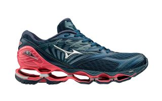 Mizuno WAVE PROPHECY 8 BLUE RED WOMEN J1GD1900 03
