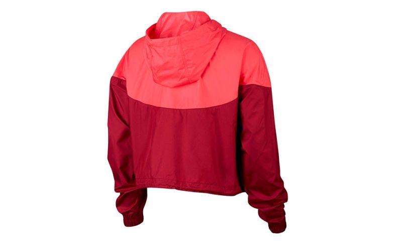 Buque de guerra Caliza fútbol americano  Chaqueta Nike Sportswear Rojo Coral Mujer - Diseño y calidad