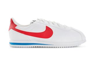 Nike CORTEZ BASIC SL WHITE RED BLUE JUNIOR NI904764 103