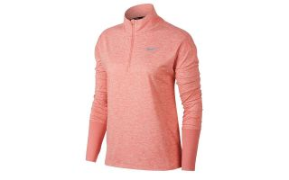 Nike CAMISETA ELEMENT TOP HZ CORAL MUJER