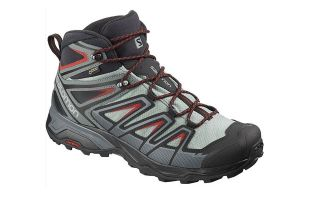 Salomon X ULTRA 3 MID GTX GREY GREEN L40662000