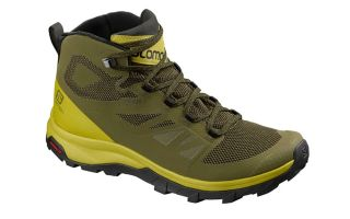 Salomon OUTLINE MID GTX VERDE LIME L40679300