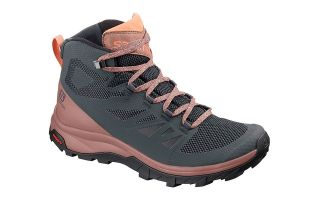 Salomon OUTLINE MID GTX BLUE BLACK WOMEN L40679400