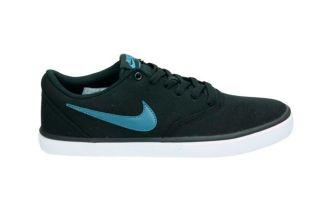 Nike SB CHECK SOLAR CANVAS BLACK BLUE
